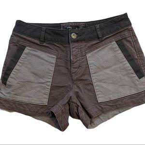 PRANA Kittle shorts stretch canvas cotton size 0